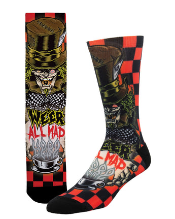 Mad Hatter Unisex Socks - Shop Now | Socksmith