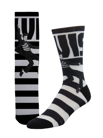 Elvis Striped Unisex Socks - Shop Now | Socksmith