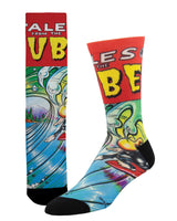 """NO BS - Sized For All """"Tube Tales"""" Socks"""
