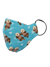 Loving Otters Mask - Shop Now | Socksmith