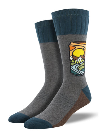 AtomicChild Designed Hiking Socks | Outlands by Socksmith