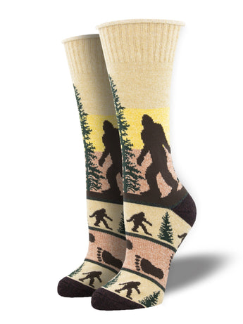 Recycled Wool - Bigfoot Animal Socks Made In USA | Socksmith