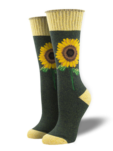 Recycled Wool - Sunflower Socks Made In USA | Socksmith