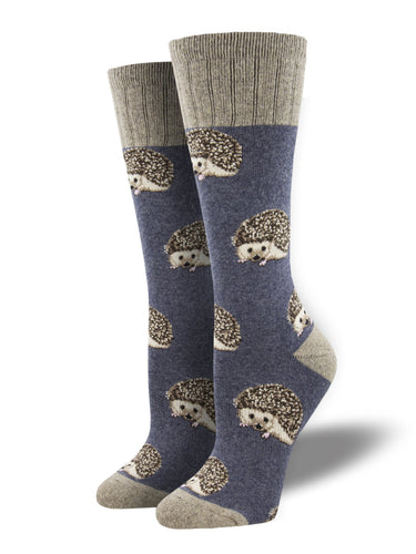 Recycled Wool - Hedgehog Socks Made In USA | Socksmith