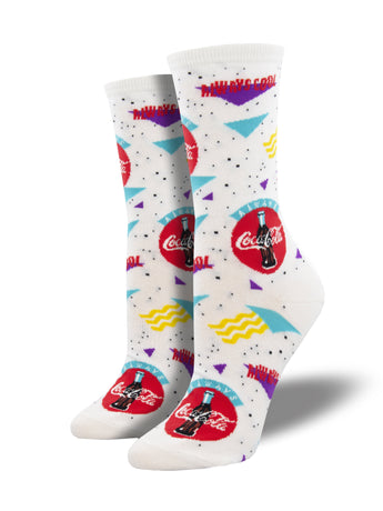 90s Coca-Cola Socks for Women - Shop Now | Socksmith