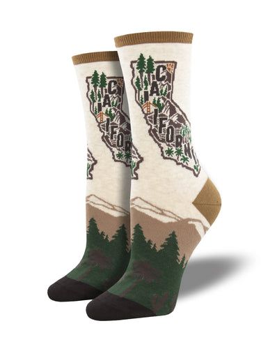 California Redwoods Socks for Women - Shop Now | Socksmith