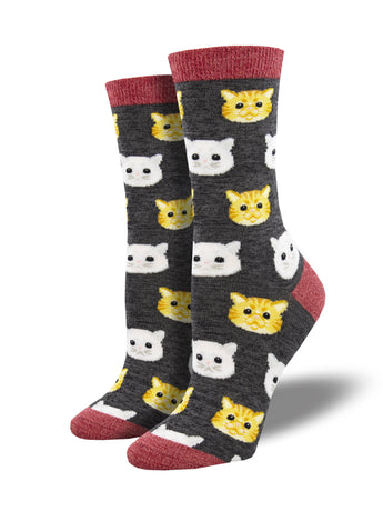 Bamboo Feline Good Cat Socks for Women - Shop Now | Socksmith