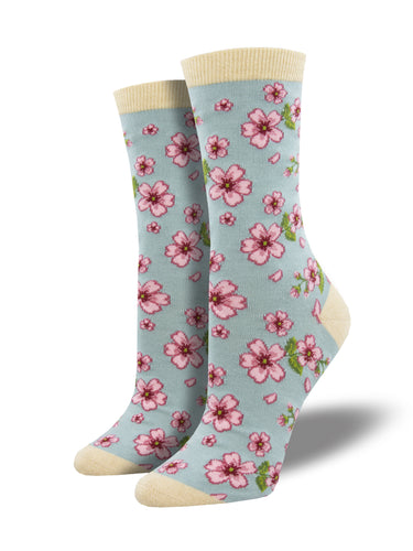 Bamboo In Bloom Floral Socks for Women - Shop Now | Socksmith
