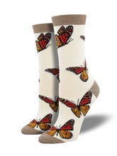 Bamboo Monarchy Butterfly Socks for Women - Shop Now | Socksmith