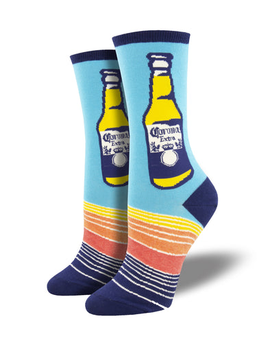 Corona Beer Bottle Socks for Women - Shop Now | Socksmith