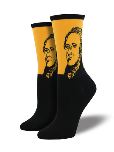 Alexander Hamilton Socks for Women - Shop Now | Socksmith