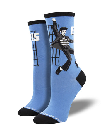 Elvis Jailhouse Rock Socks for Women - Shop Now | Socksmith