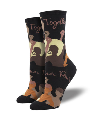 Women's Empowerment Crew Socks | Socksmith