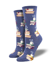 Women's Love Story Book Novelty Socks