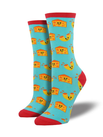 Mac and Cheese Socks for Women - Shop Now | Socksmith