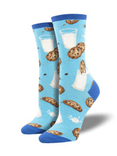 Cookies and Milk Socks for Women - Shop Now | Socksmith