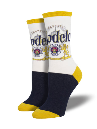 Modelo Beer Socks for Women - Shop Now | Socksmith