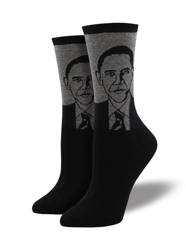 Barack Obama Socks for Women - Shop Now | Socksmith