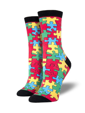 Puzzle Socks for Women - Shop Now | Socksmith