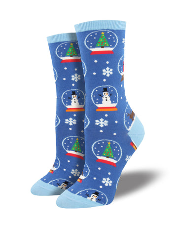Winter Snowglobe Socks for Women - Shop Now | Socksmith