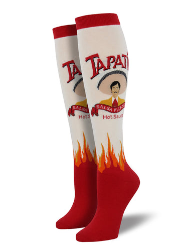Order Women's Tapatio Hot Sauce Knee High Socks | Socksmith