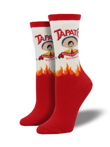 Tapatio Hot Sauce Socks for Women - Shop Now | Socksmith