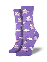 Flying Pig Socks for Women - Shop Now | Socksmith