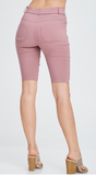 Bella Bermuda Shorts, Long, Knee Length, Stretchy