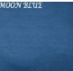 Melinda Moon Blue Basic Fit and Flared Dress featuring bell sleeve S-XL