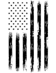 Distressed Flag Decal