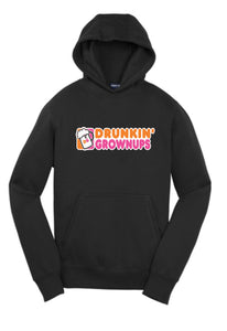 Drunkn Grown Ups Hoodie - Voodoo Graphx