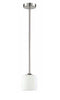 Luminance F11010  Iris 1-lt  Mini Pendant