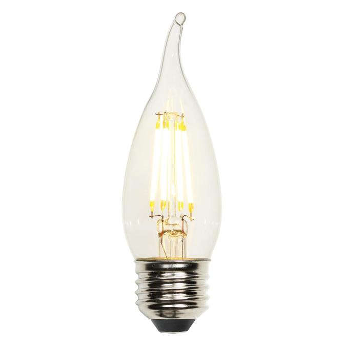 Westinghouse 3317100 4.5W CA10 Filament Dimmable LED Bulb