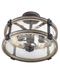 Kichler Barrington 3-lt Semi-Flush Mount