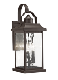 Linford 3-lt Outdoor Wall Light