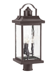 Linford 3-lt Outdoor Post Light