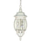 "Nuvo Central Park 3-lt 7"" Outdoor Hanging Lantern"