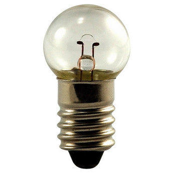 Eiko 605 6.15V .5A G4-1/2 Miniature Screw Base Light Bulb, 10-Pack