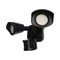 Nuvo 20W LED Dual Head Security Light with Motion Sensor, 4000K