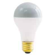 Bulbrite 60A19F/SB 60W Inside Frost Silver Bowl Incandescent Bulb