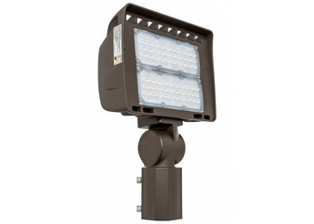 LF4 100W Architectural Series LED Flood Light with Slip Fitter