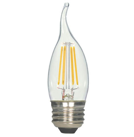 Satco S8610 4.5W CA11 Dimmable LED Bulb