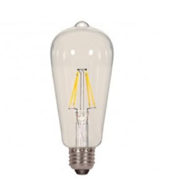 Satco S8611 6.5W ST19 Dimmable LED Bulb
