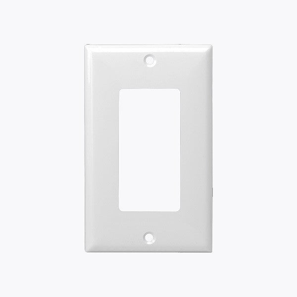 Plastic Wall Plates 1-Gang Switch/GFCI Cover