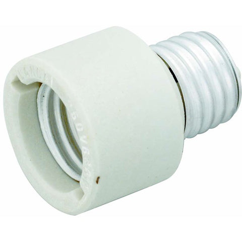 Satco 92-324 Porcelain Medium to Medium Socket Extender