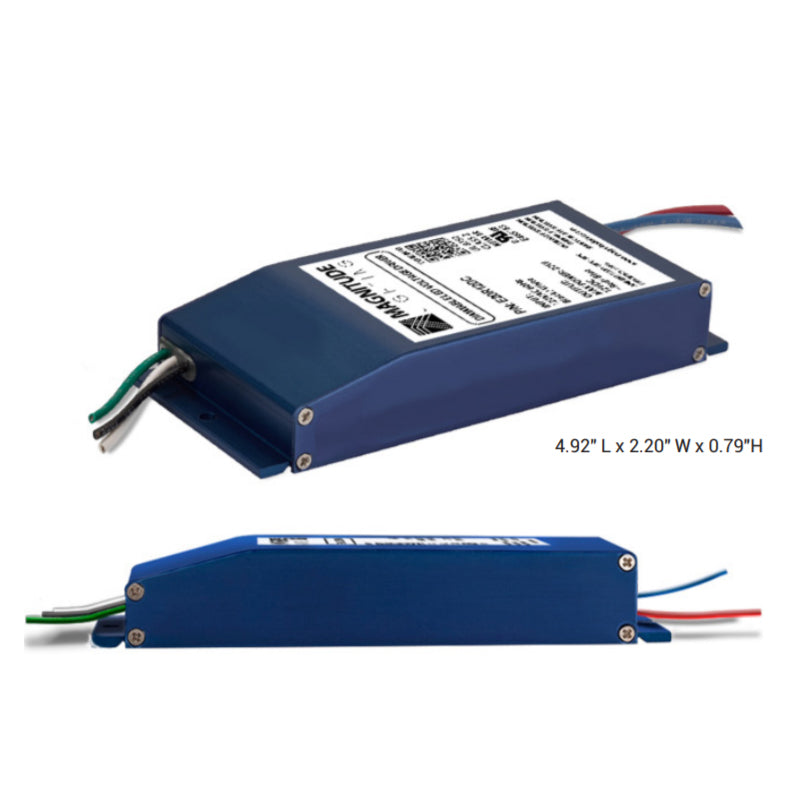 Magnitude E-Series 40W LED Electronic Driver, UL Recognized Enclosure, 12VDC