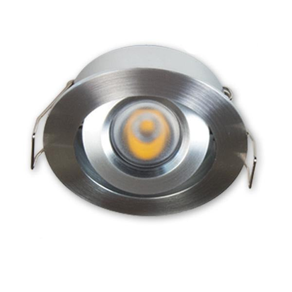 GM Lighting 12V Mini Adjustable LED Downlight