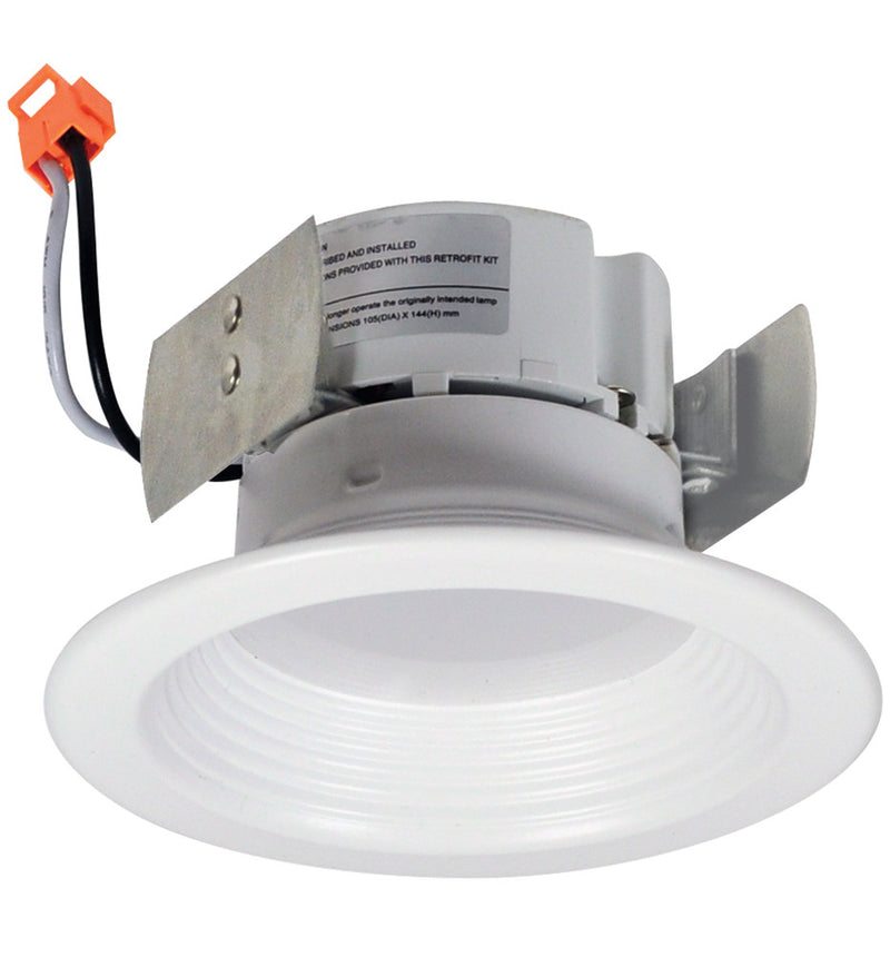 "4"" 10W LED Onyx Retrofit / Baffle Trim / 2700K"