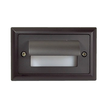 NSW-673 Mia LED Step Light with Horizontal Shroud