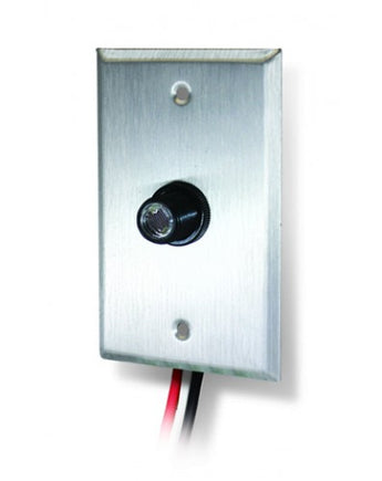 PC-B1-W Outdoor Button Photocontrol With Wall Plate